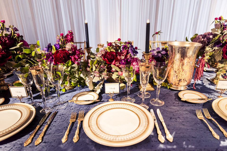Moody Colored Retirement Decor  Planning by Wrap It Up Parties