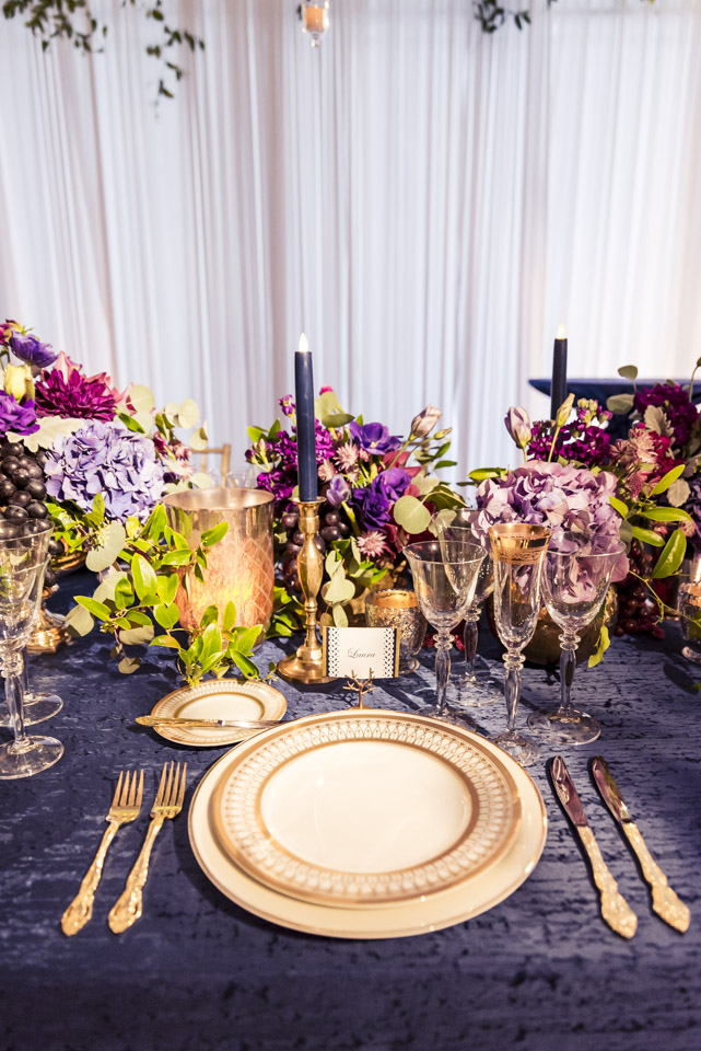 Retirement Party Table Setting  Planning by Wrap It Up Parties