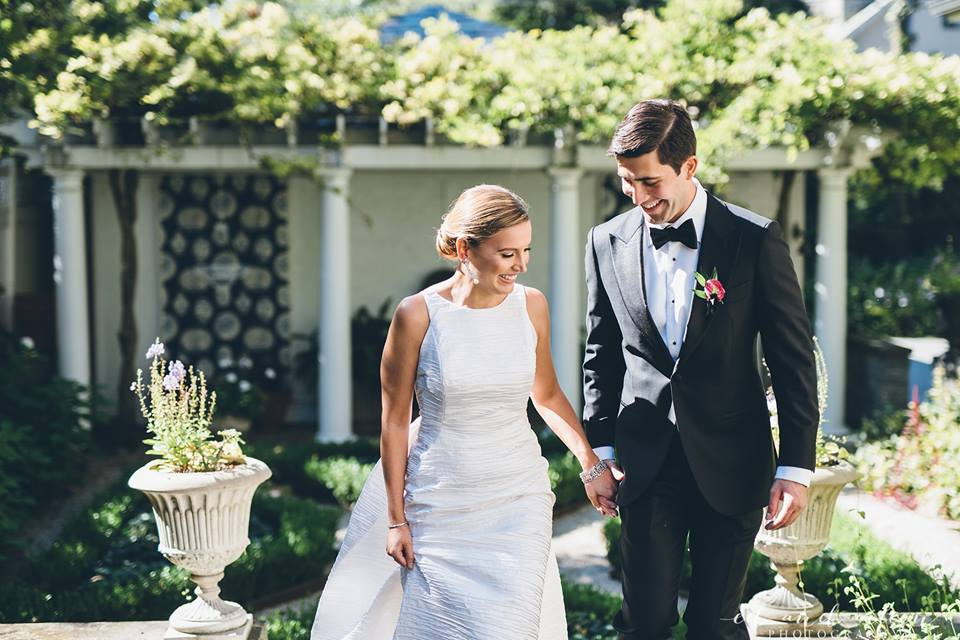 Bride and Groom  Wedding Dress  Planning by Wrap It Up Parties