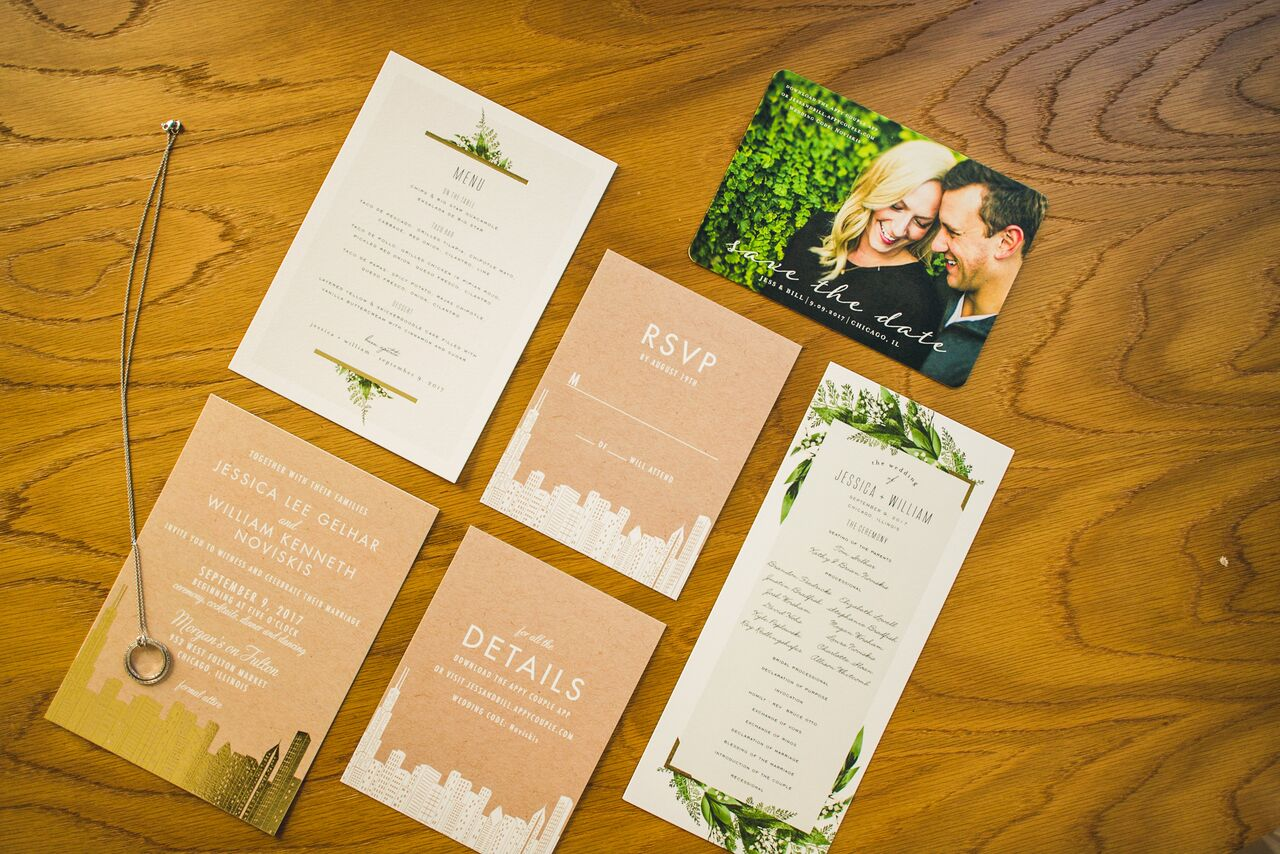 Wedding Invitations  Planning by Wrap It Up Parties