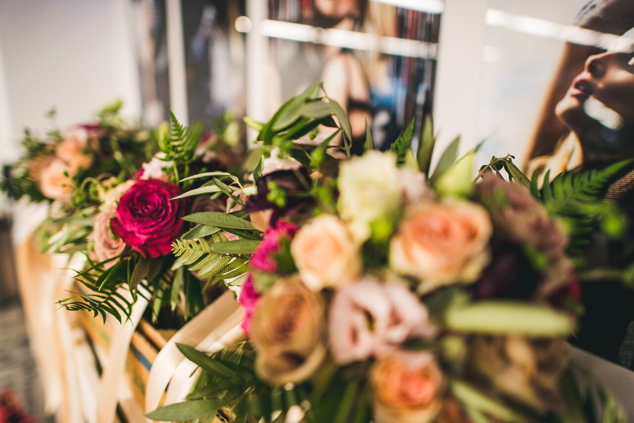 Bright Summer Bouquet  Planning by Wrap It Up Parties