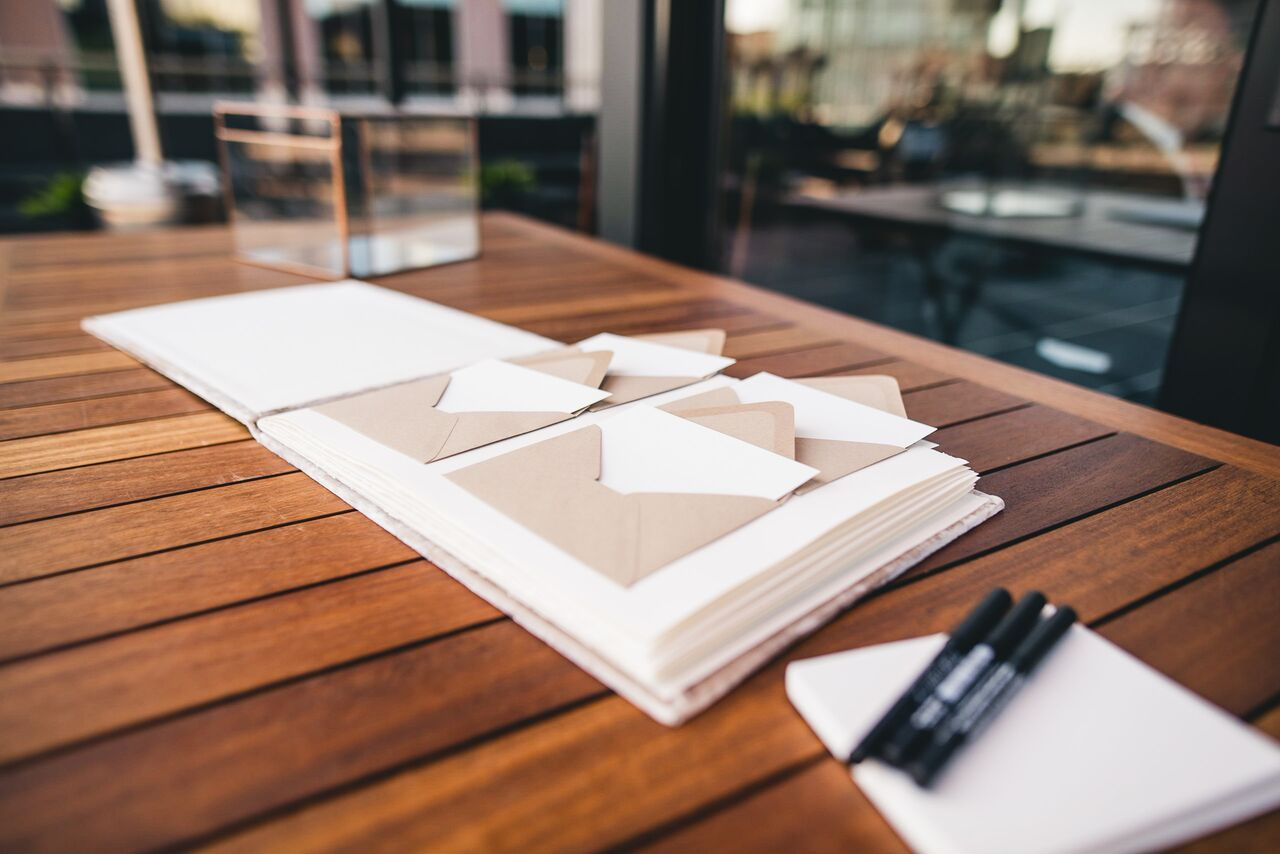 Guest Book Idea  Planning by Wrap It Up Parties