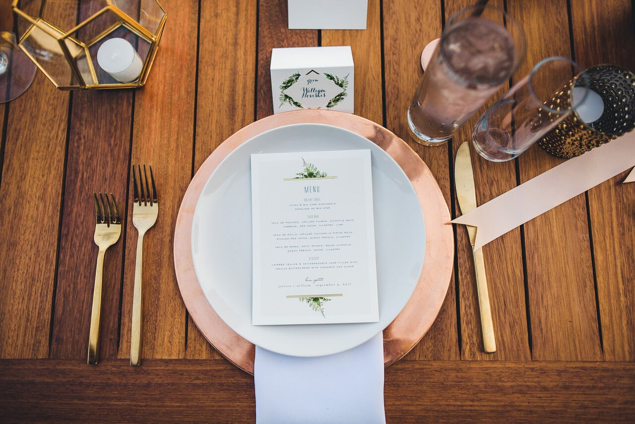 Wedding Reception Table Decor  Planning by Wrap It Up Parties