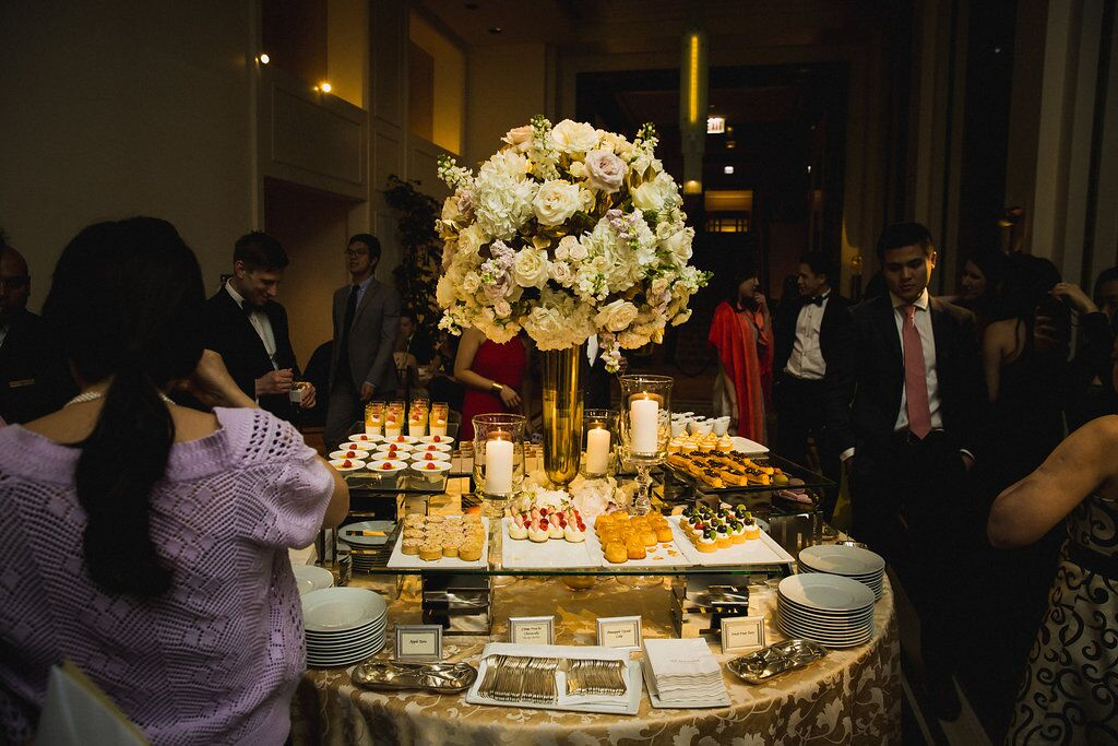 Wedding Reception Dessert Table  Planning by Wrap It Up Parties