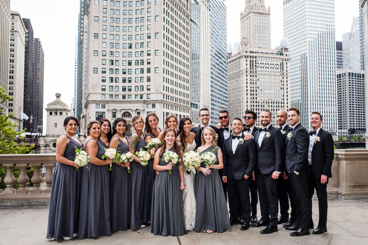 Bridal Party  Chicago Wedding  Planning by Wrap It Up Parties