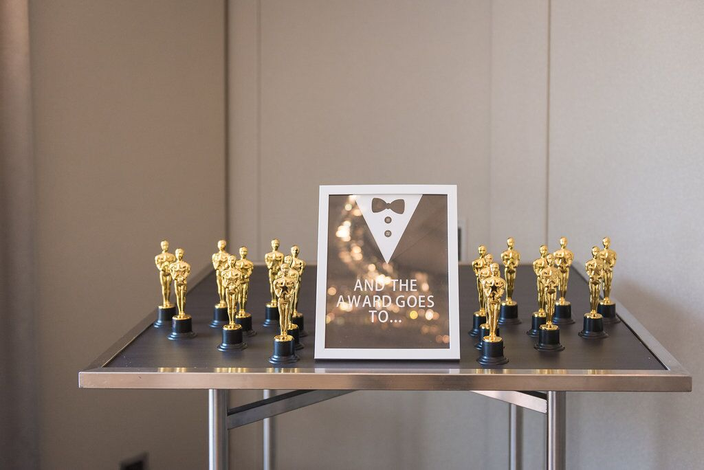 Hollywood Award Show Party Decor  Birthday Party  Planning by Wrap It Up Parties
