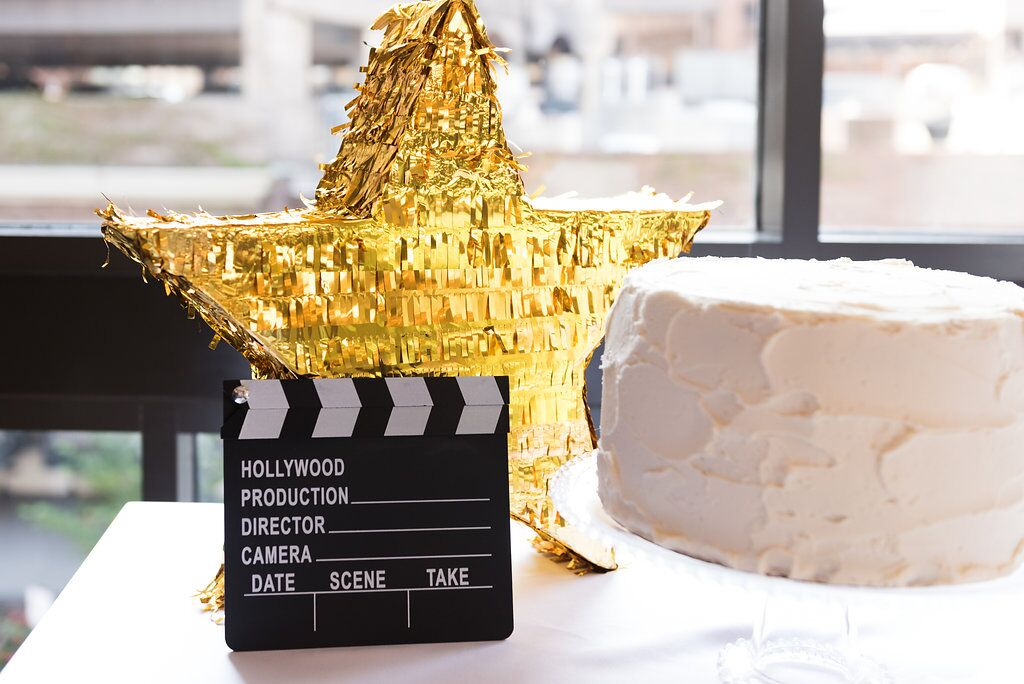 Hollywood Party Decor  Hollywood Award Show Birthday Party  Planning by Wrap It Up Parties
