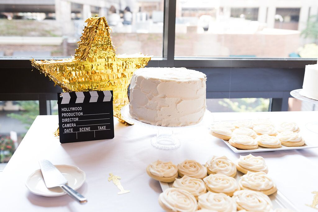 Hollywood Award Show Birthday Party  Hollywood Party Decor  Planning by Wrap It Up Parties
