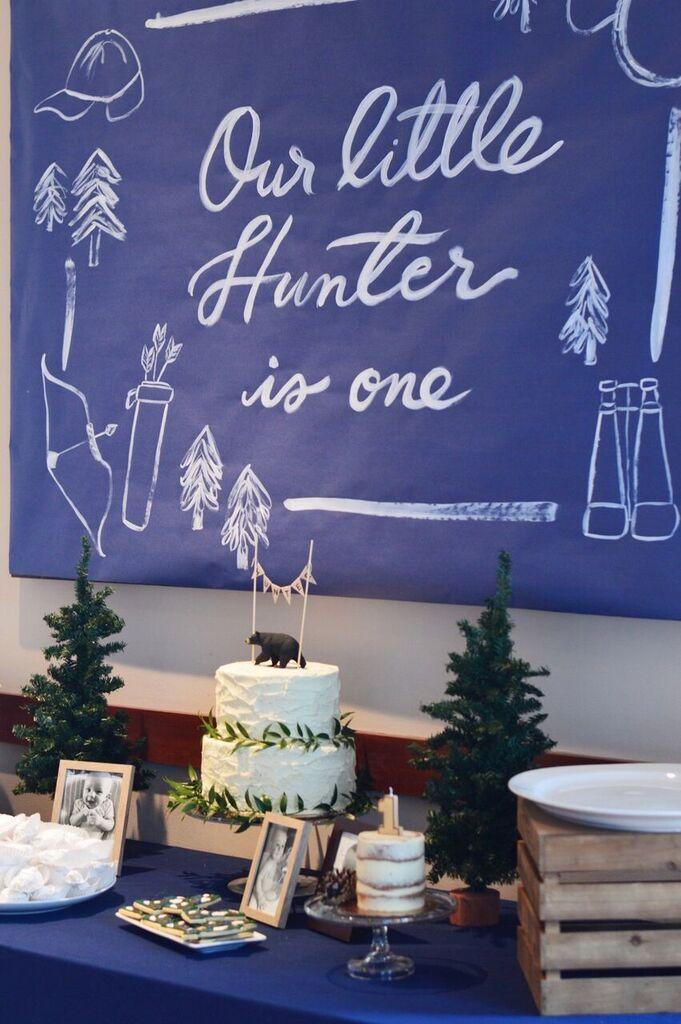 Hunter's 1st Birthday