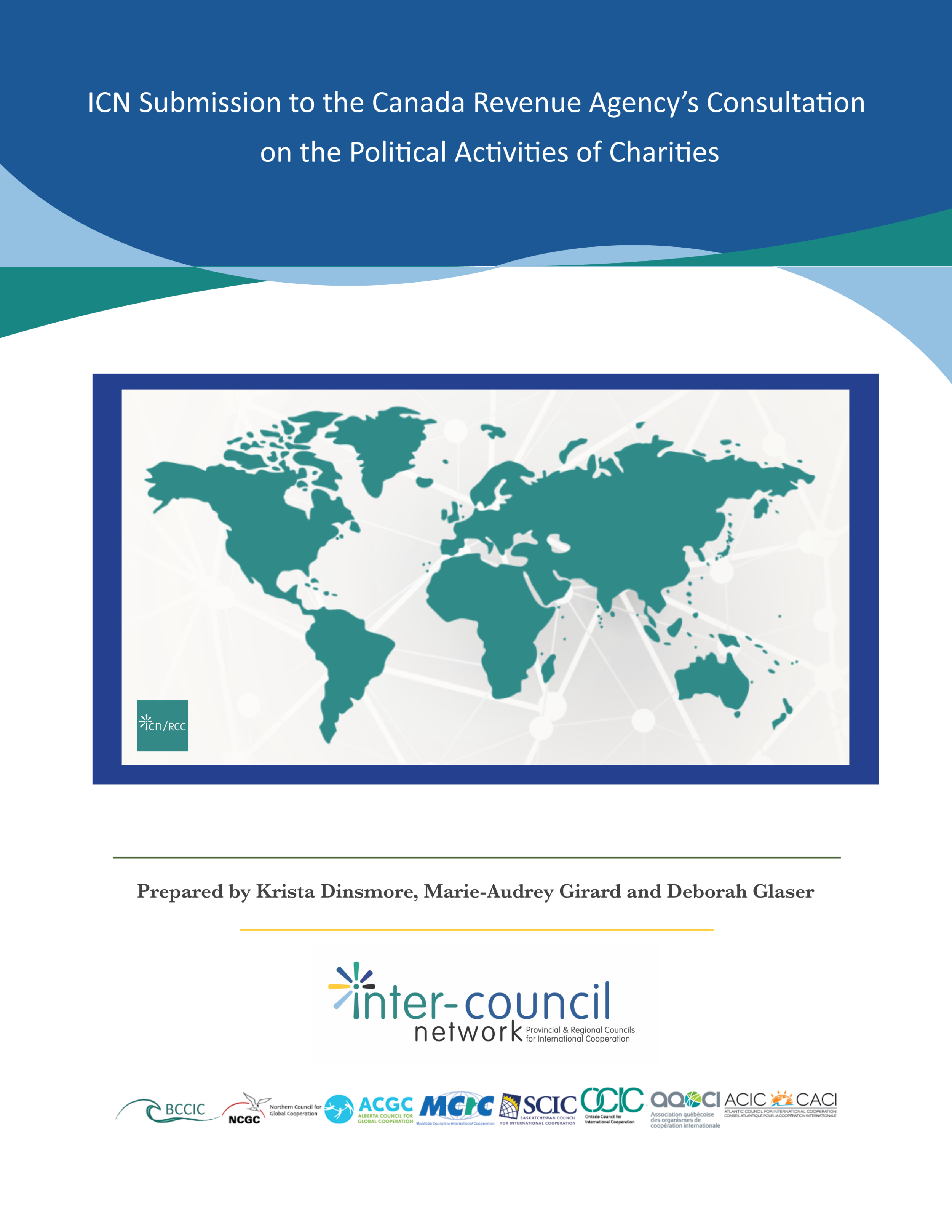 ICN Submission to the Canada Revenue Agency's Consultation on the Political Activities of Charities