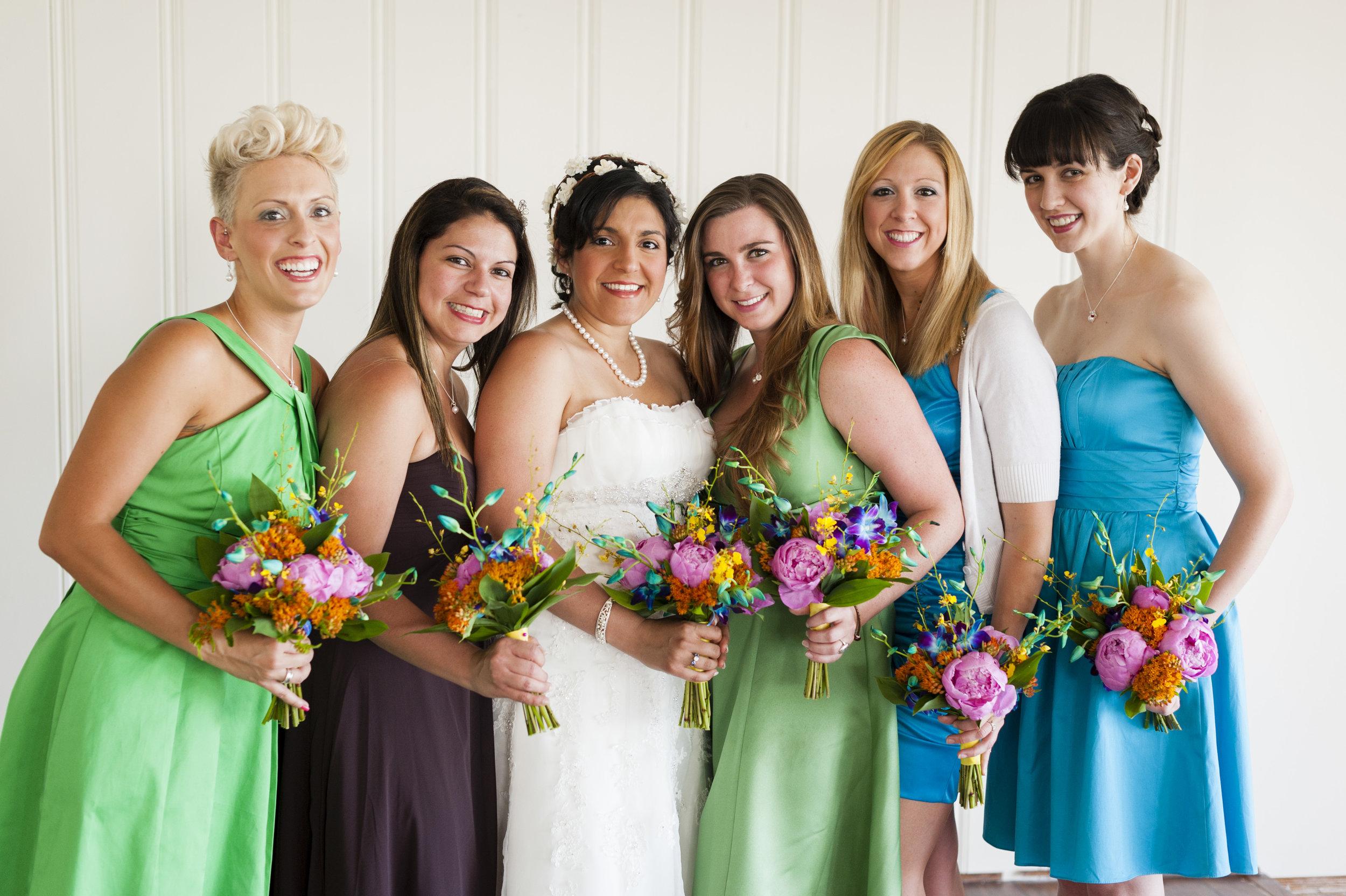 Bridesmaids portrait