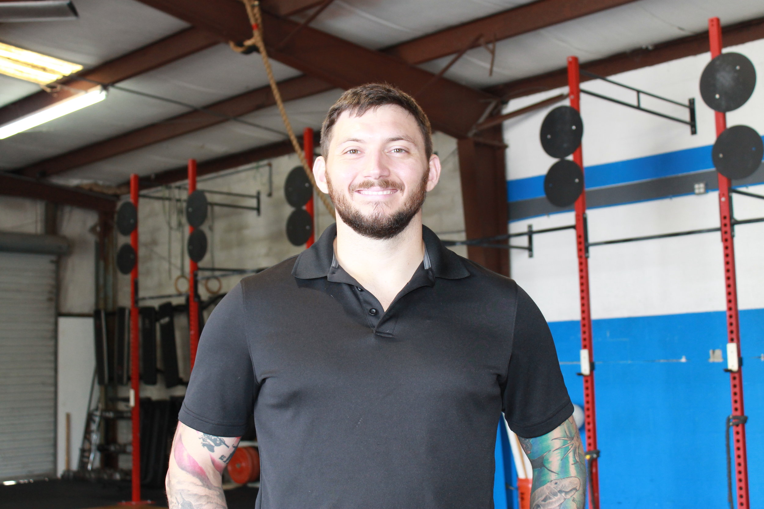 Nick Habich, ATC, LMT, CSCS, CFL1  Nick is a Certified Athletic Trainer, Licensed Massage Therapist, and Certified Strength and Conditioning Specialist. He is a dedicated athlete who regularly competes (with solid mediocrity) in local 5ks, Crossfit, and Olympic Weightlifting competitions. He is also the Co-Owner of Crossfit Cape Coral, and has been coaching functional fitness style classes for over 4 years. He is an 8 year US Army Veteran.   Certifications  +Bachelor of Science in Athletic Training        Florida Gulf Coast University +Certified Strength and Conditioning Specialist        National Strength and Conditioning Association +Licensed Massage Therapist        Florida Academy +Functional Movement Screen Certified        Functional Movement Systems +Instrument Assisted Manual Therapy Certification        Rock Tape Rock Blades +Level 1 Trainer        Crossfit Inc +Sports Performance Coach        USA Weightlifting