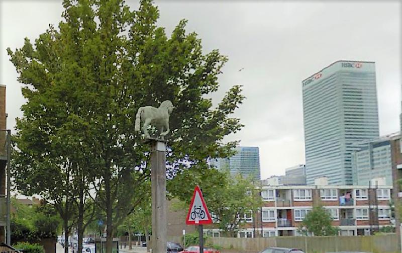The White Horse, on the corner of Poplar High Street and Saltwell Street