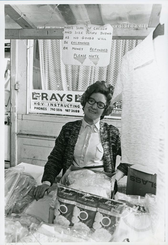 Mrs Phyllis McCarthy ©East End Advertiser 1976,Tower Hamlets Local History Library & Archives