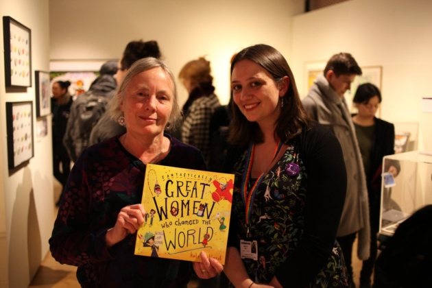 Letterbox Library co-founder Gillian Harris, who started Letterbox from her home in Clapton in 1983 with Hackney Museum manager Rebecca Odell
