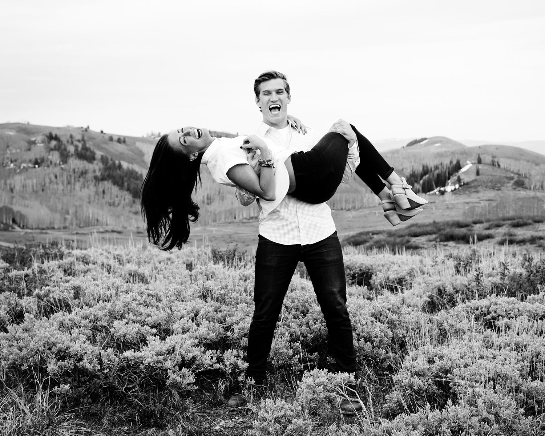 © Stephanie Neal Photography - Deer Valley Utah Couple Engagement Photographer.jpg