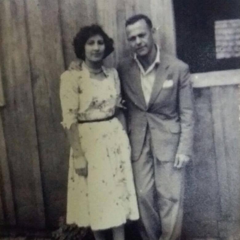 My grandparents Dora e Floriano Melez. circa 1955.