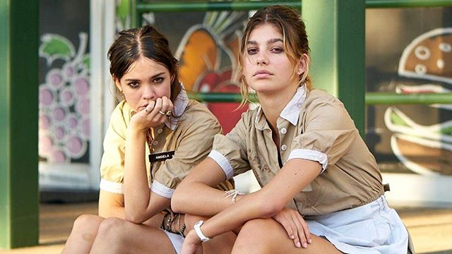 """Tomorrow @4:15pm at Alamo Lamar catch the SXSW premiere of """"Never Goin' Back."""" Augustine Frizzell's comedy follows two high school dropouts who are about to take a week off to chill at the beach. Too bad their house got robbed, rent's due, they're about to get fired, and they're broke. #SXSW"""