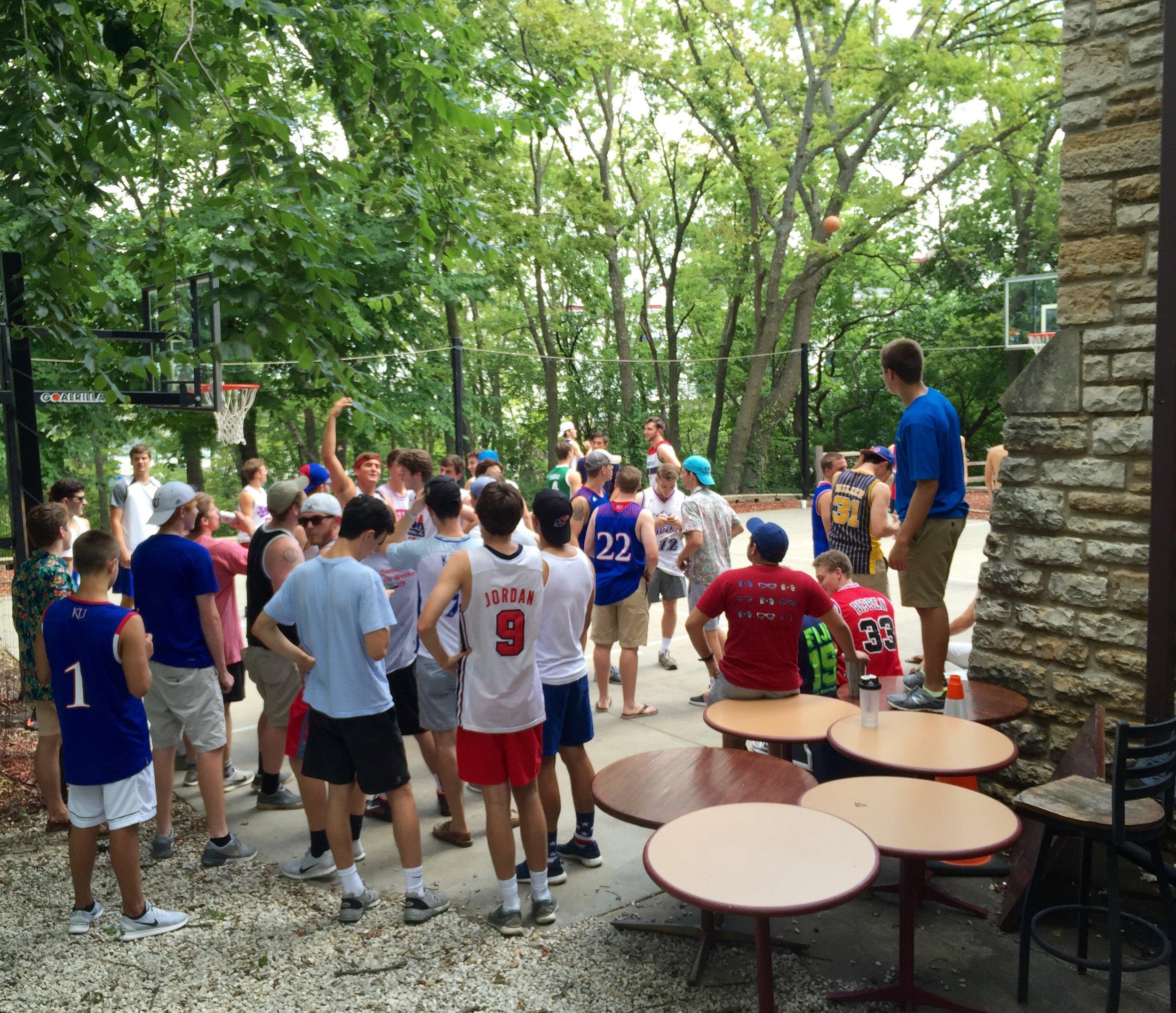 Annual Pledge Basketball Tournament