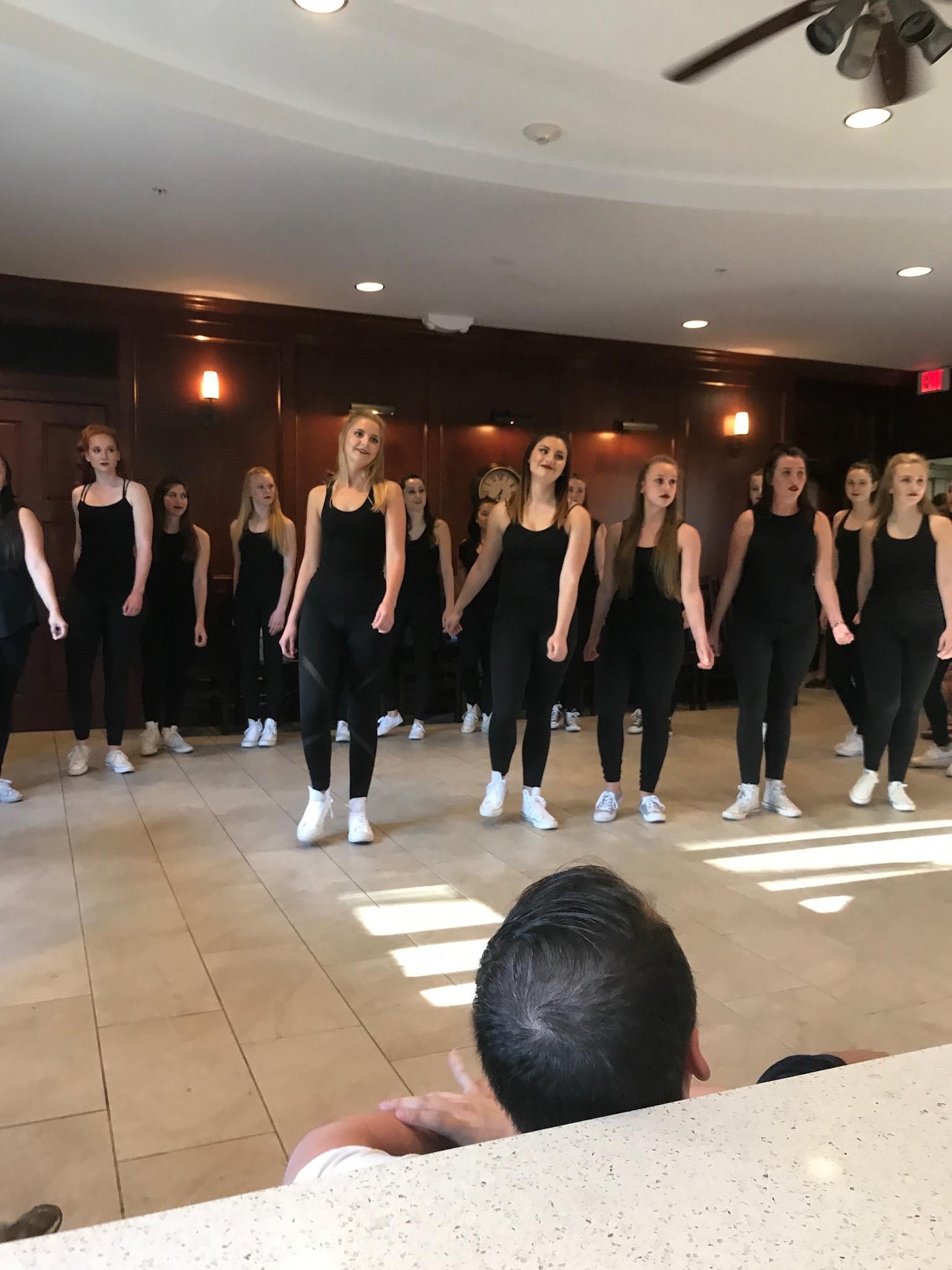 Serenaded by Sigma Kappa