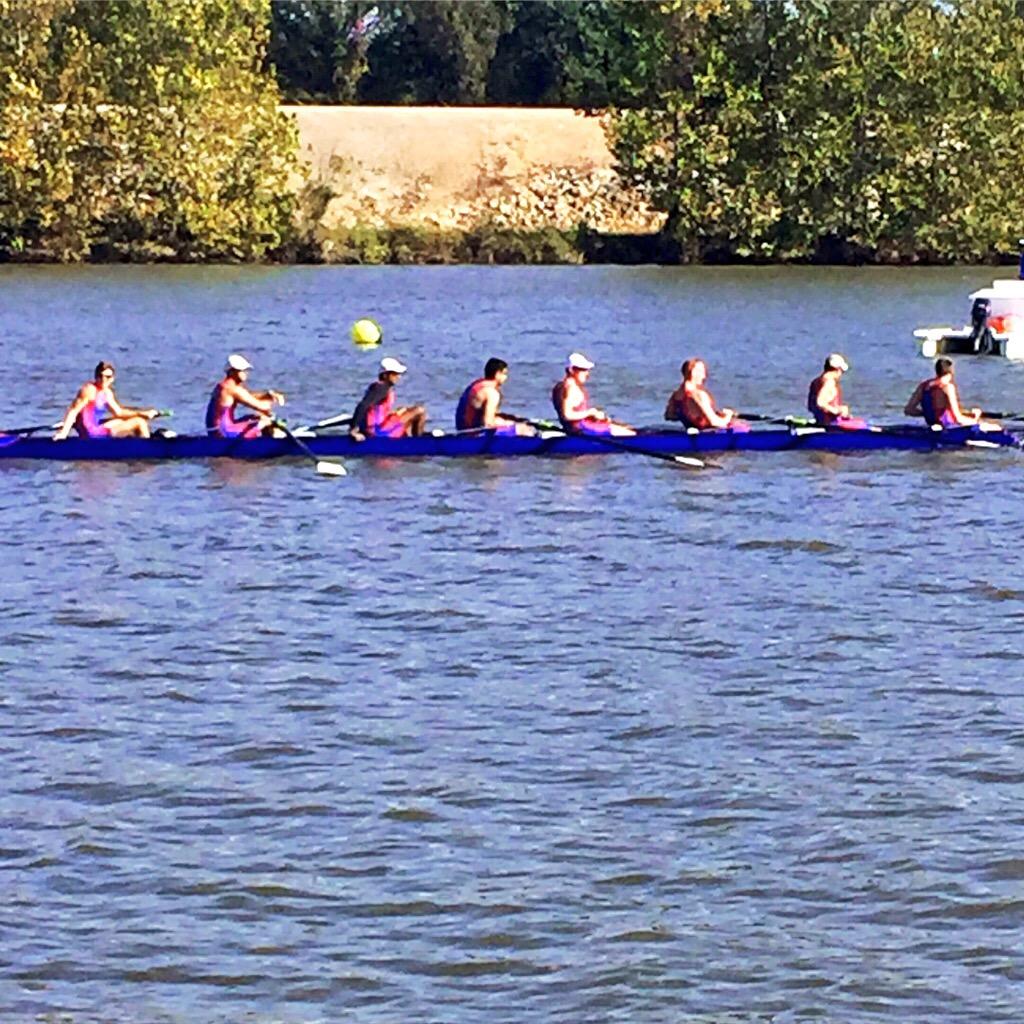 Harrigan on the Rowing Team