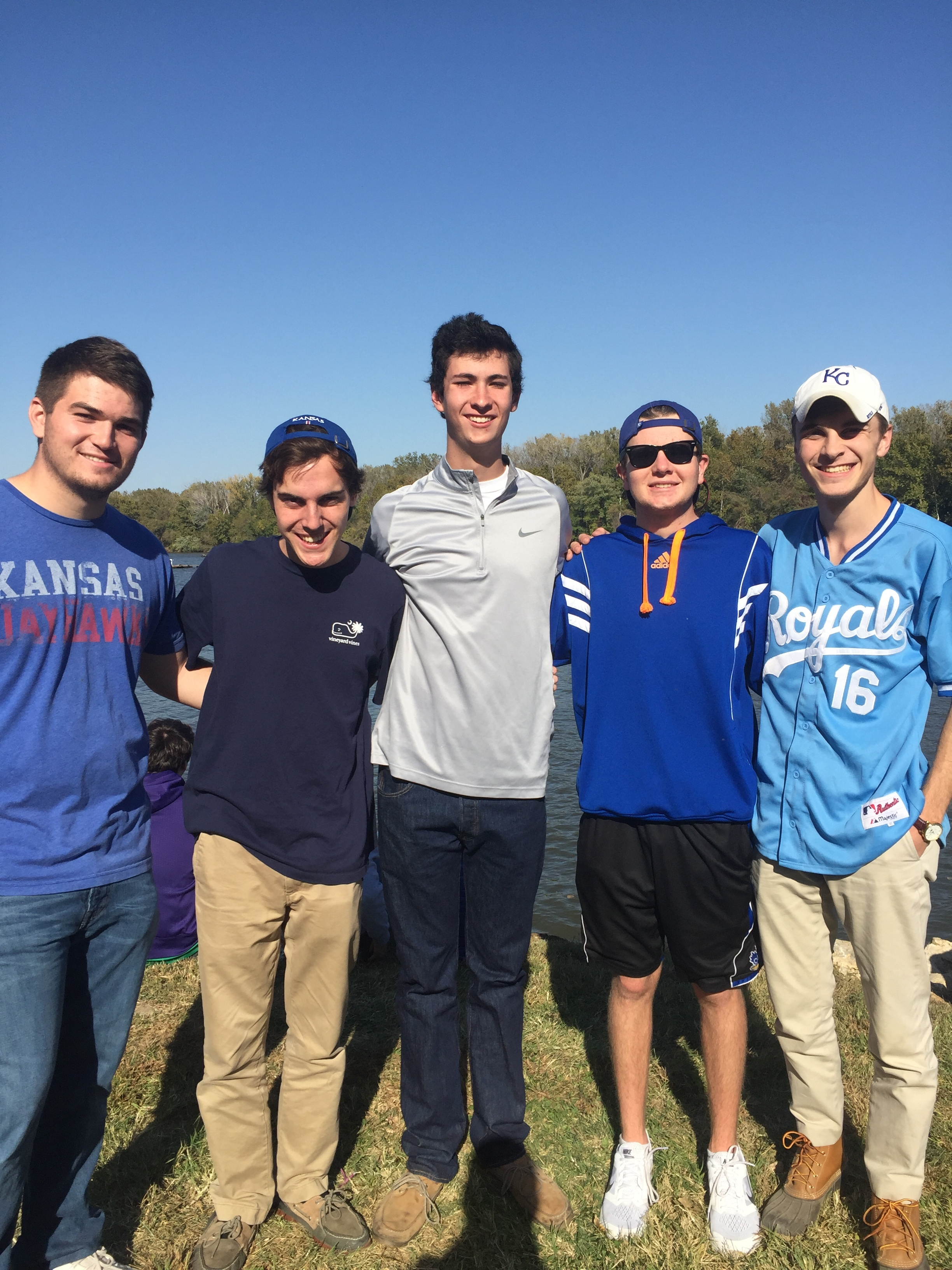 Brothers Supporting Harrigan