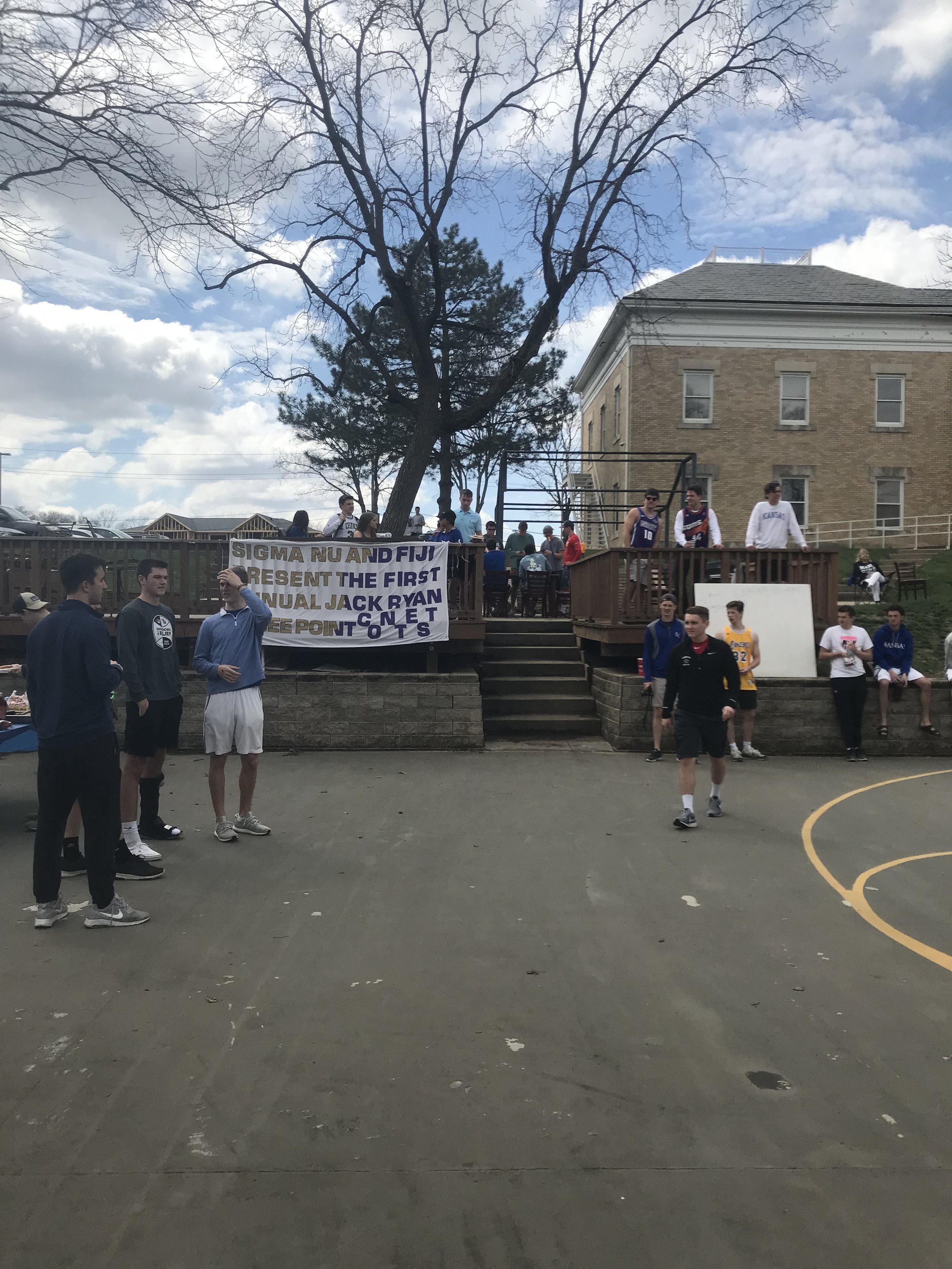 3 Point Contest Philanthropy Event With Sigma Nu