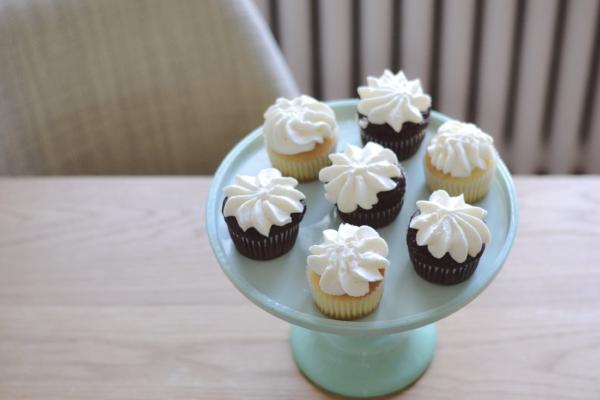 Cupcakes sans gluten Mi & Stu