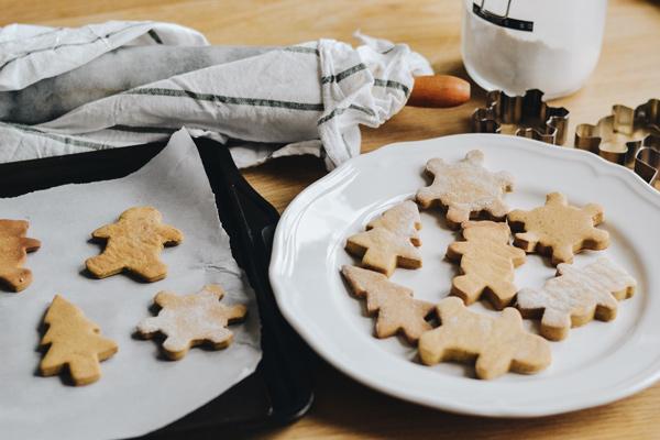 Biscuits au pain d'épice -