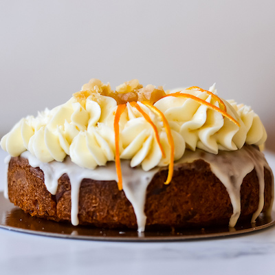 Gâteau carottes gingembre - Susie Sans Gluten  Sans Produits Laitiers - Vegan - Sans Soya