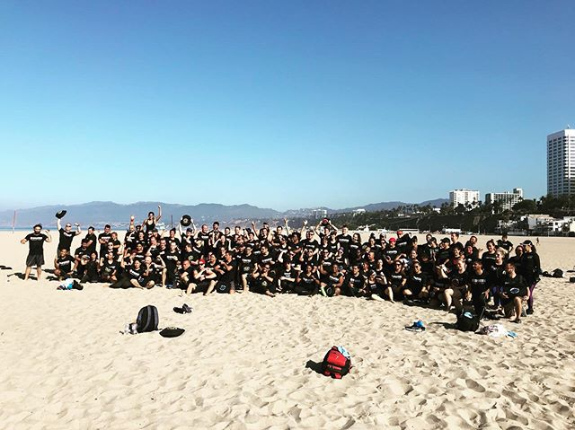 Two days, two great events. @spartan Workout Tour at the Santa Monica Beach on Saturday and Intro to Parkour Workshop with Coach @austingpk on Sunday. Two opportunities for us to connect with our local community and help them gain strength and learn new skills that will help them on the course and in their lives.  We are more than just a way for you to get your sweat on for an hour a day. We bring you creative ways for you to accomplish challenging goals and have fun doing it, and collaborate with others who share a similar philosophy and mission.  If all of this sounds like your jam, shoot us a DM and we'll let you know how you can try us out for two weeks for just $25! #timetolevelup