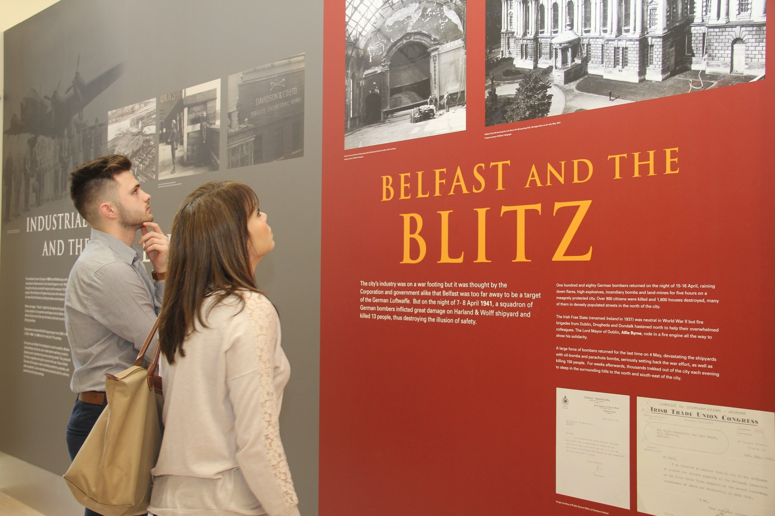 Belfast City Council - City Hall Exhibtion
