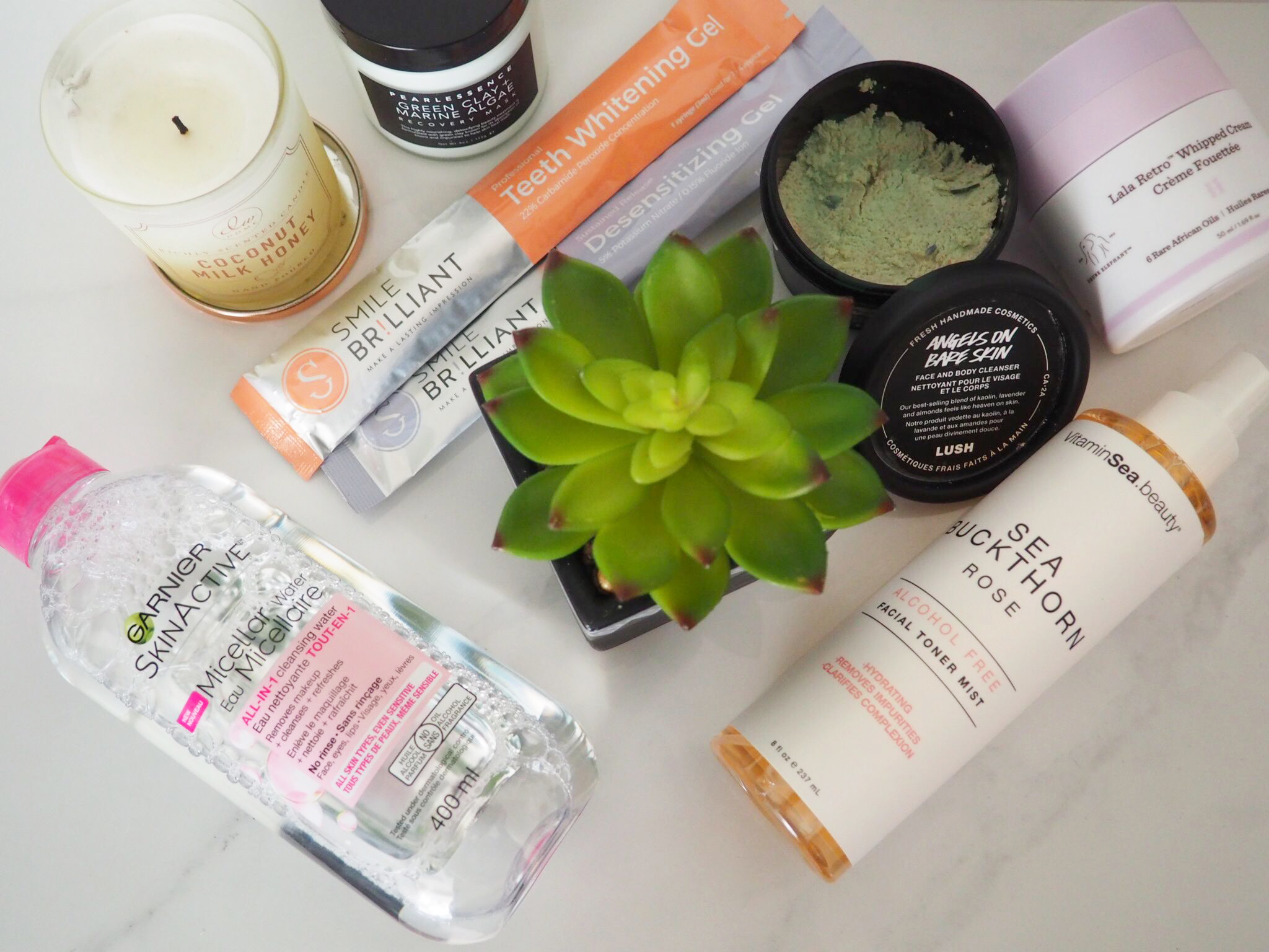 Products from my nighttime routine