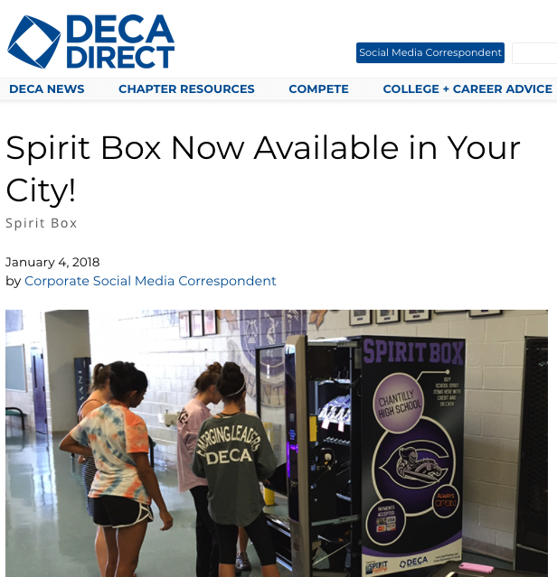 Read the full DECA Direct Article Now!