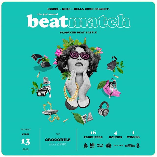 So our very own Benza got into the Seattle @beatmatchsea competition that's hosted at @thecrocodileseattle this Saturday the 13th! If he wins, we get to play @summermeltdown ! So come on down at 8pm to support and dance 🙏🏼 Did we mention all the new music you'll be hearing?! And all the other badass producers who will be there?!? Guaranteed good time 💃🕺🏻
