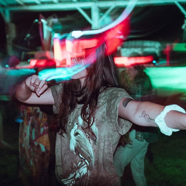 Hazy and possessed 🔮  We had a blast performing at the solstice festival a couple weeks back! 📸: @julienscherliss