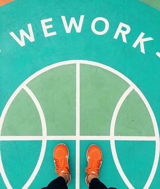 Happy Monday!! Let's work ✨✨ 📸: @wework