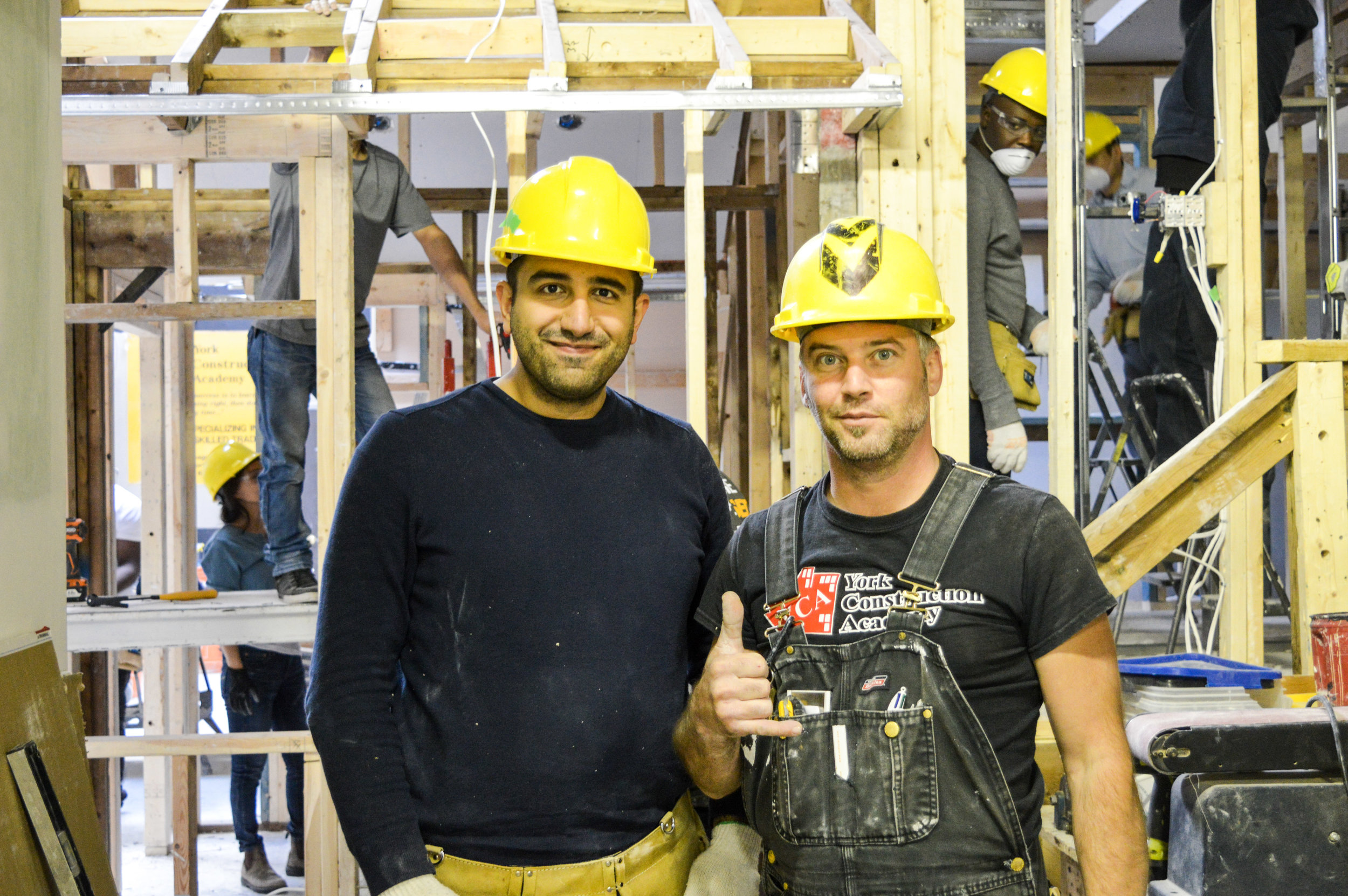 WHAT YOU'LL LEARN   Our Construction Technology program allows individuals to successfully gain theoretical and practical training in Residential Building and Renovations. Graduates receive Construction Technology, WHMIS and Working at Heights Certifications.