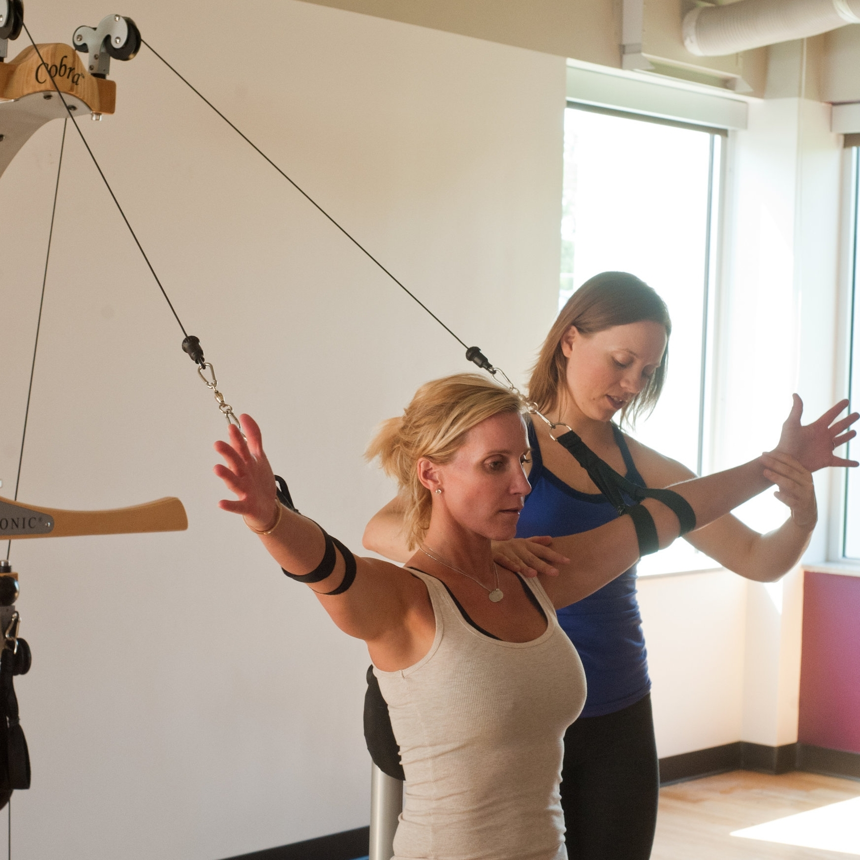 GYROTONIC® Pulley Tower Exercises