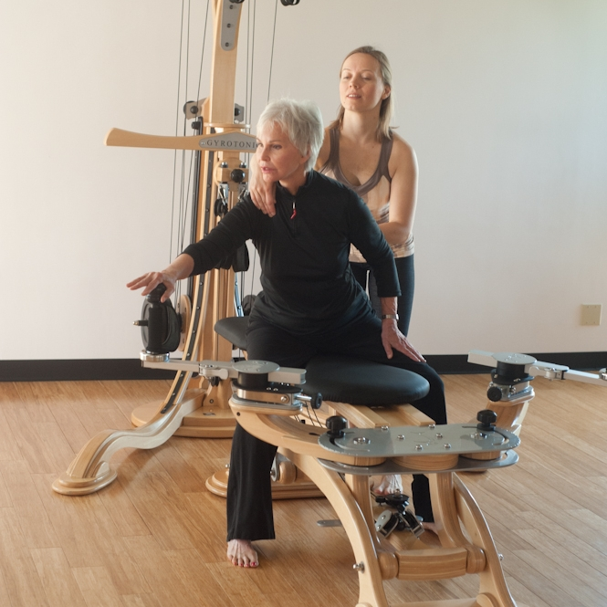 The Gyrotonic Pulley Tower