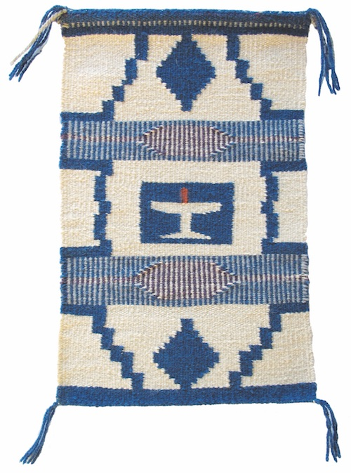 WOVEN BY MONA KIRK, an early member of UUFCO.