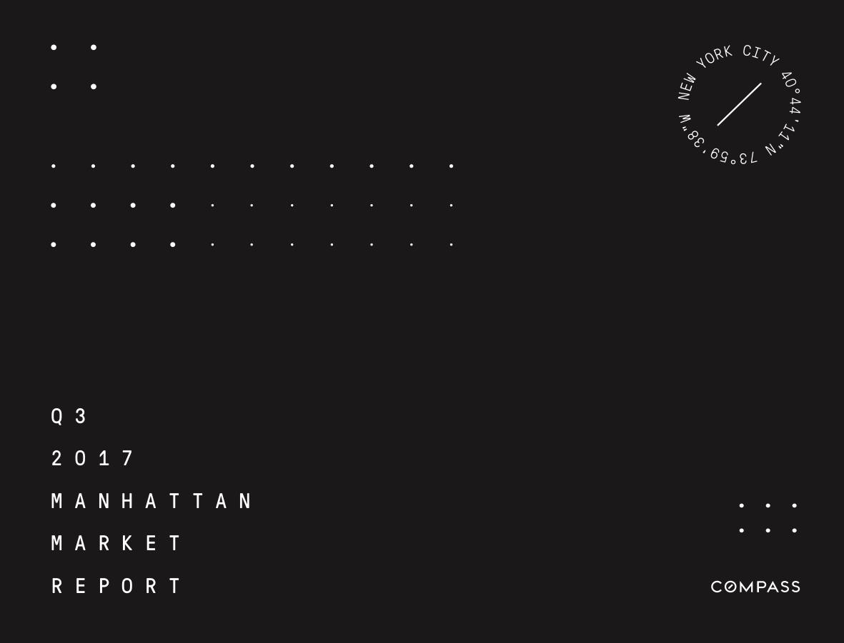 MANHATTAN Q3 2017 MARKET REPORT