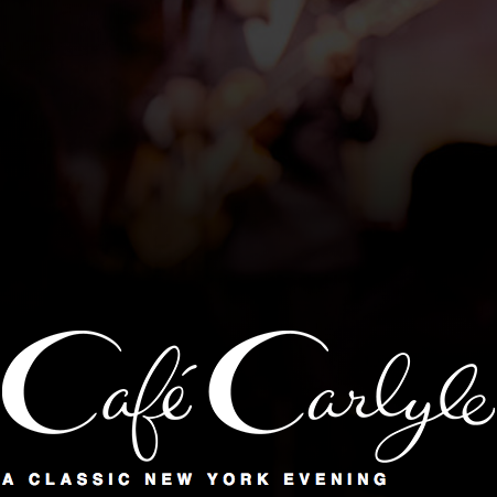 Music at Cafe Carlyle