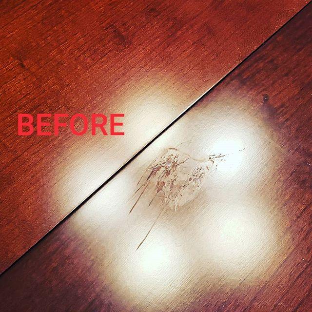 Recent on site tabletop repair. #oldpeg #oldpegfurnitureservices #syracusefurniturerepair #syracuseny #syracusesmallbusiness #syracusekitchen #furniturerepair #tabletoprepair #onsiterepair