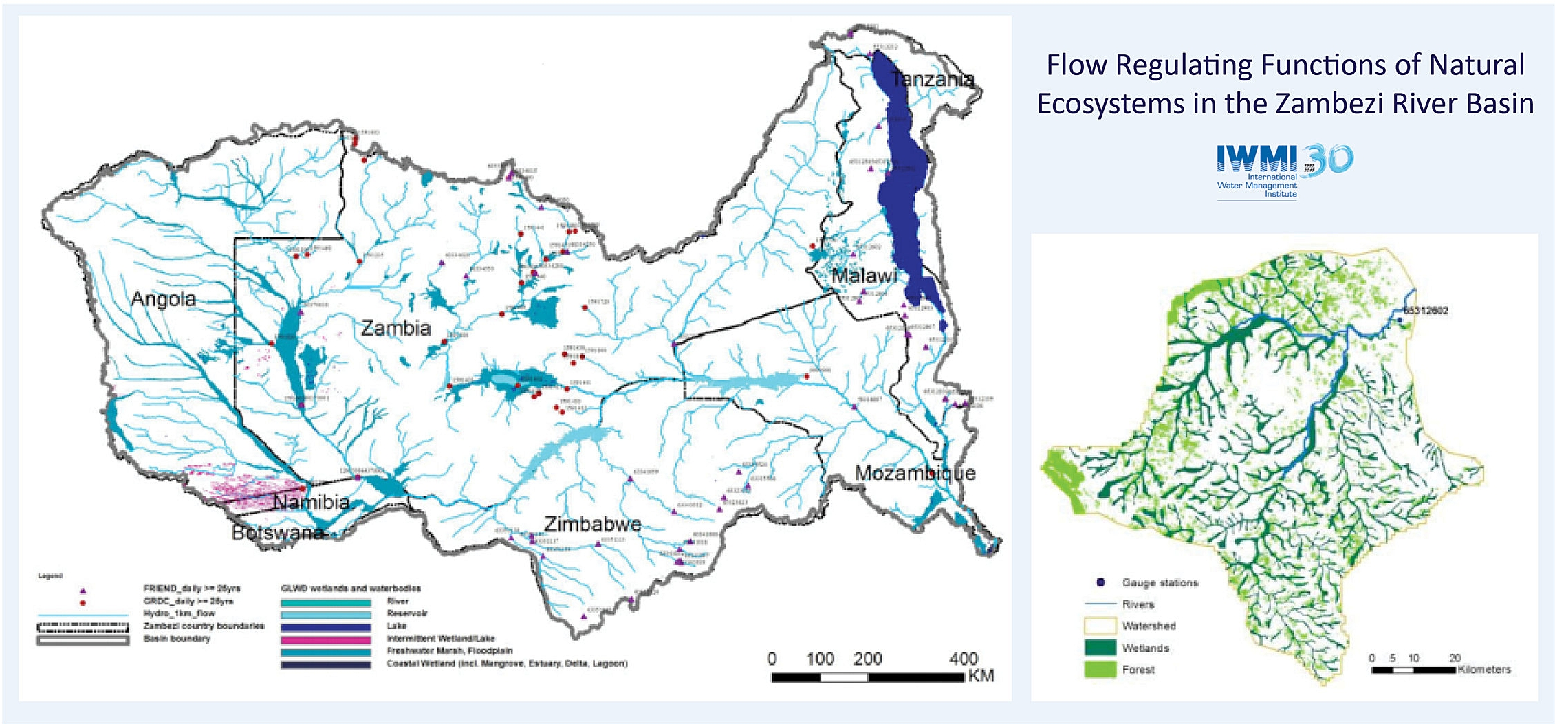 Evaluating the Flow Regulating Functions of Natural Ecosystems in the Zambezi River Basin
