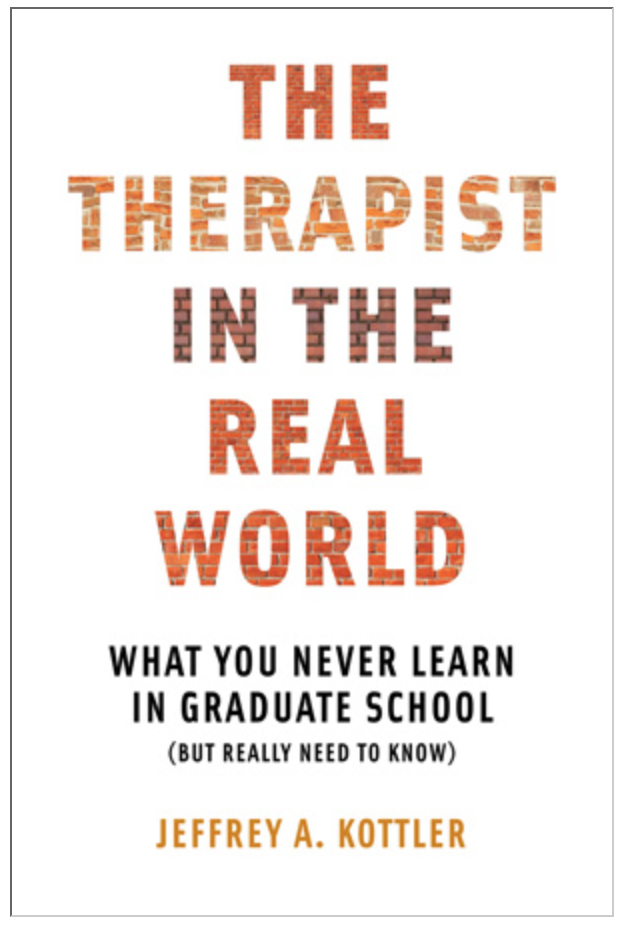the therapist in the real world jeffrey kottler