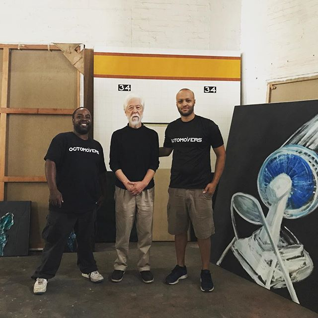 With an amazing artist (and one of our favorite clients), Mr. Hanafusa #miyashoji #painting #woodworking #moverswithgrip #octomovers #movingday #nyc #newyork #bestmoveever . . . . . #bestmovers #funmove #loveourclients #movingcompany #movingtruck #nycmovers #movers #professionalmovers #bronx #brooklyn #queens #manhattan #statenisland #nationalmovingcompany #localmovers #longdistancemovers #storage #movingsupplies #packingsupplies