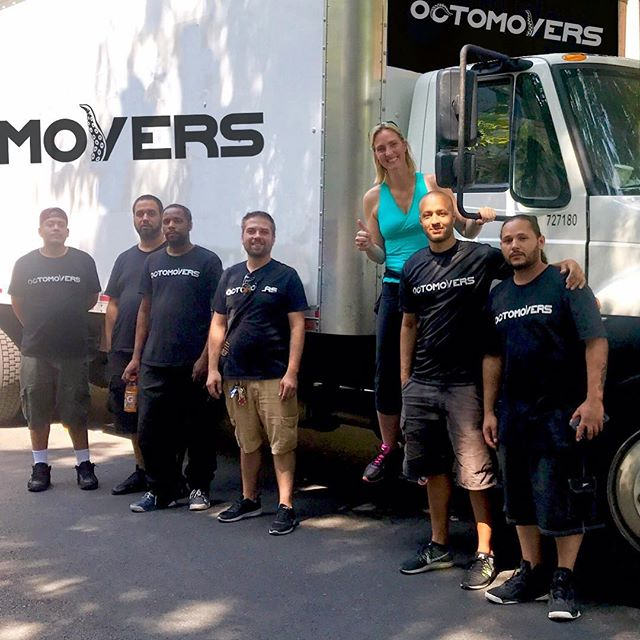 A very happy client #moverswithgrip #octomovers #nycmovers #harlem #movingcompany