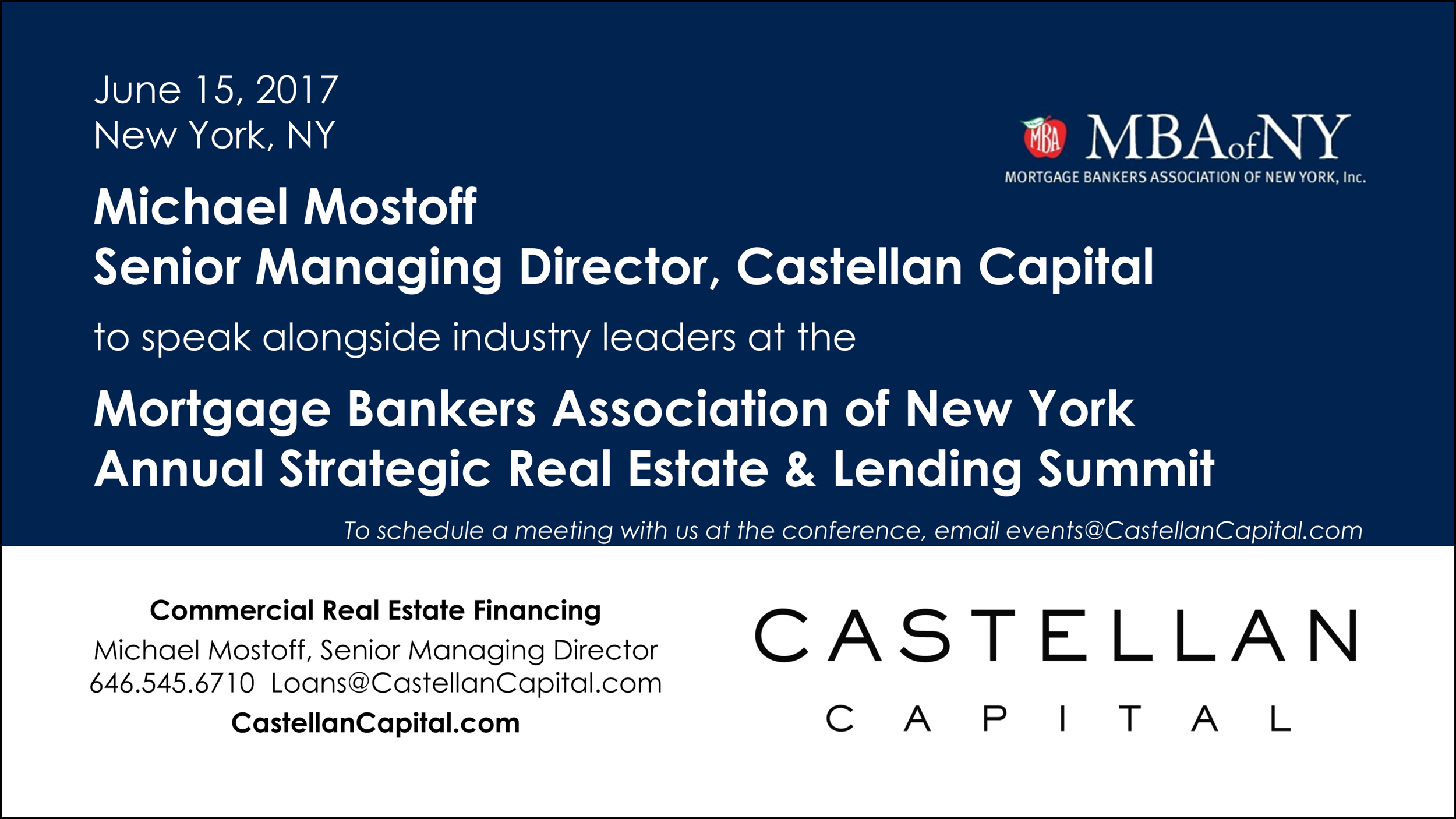 Events — Castellan Capital