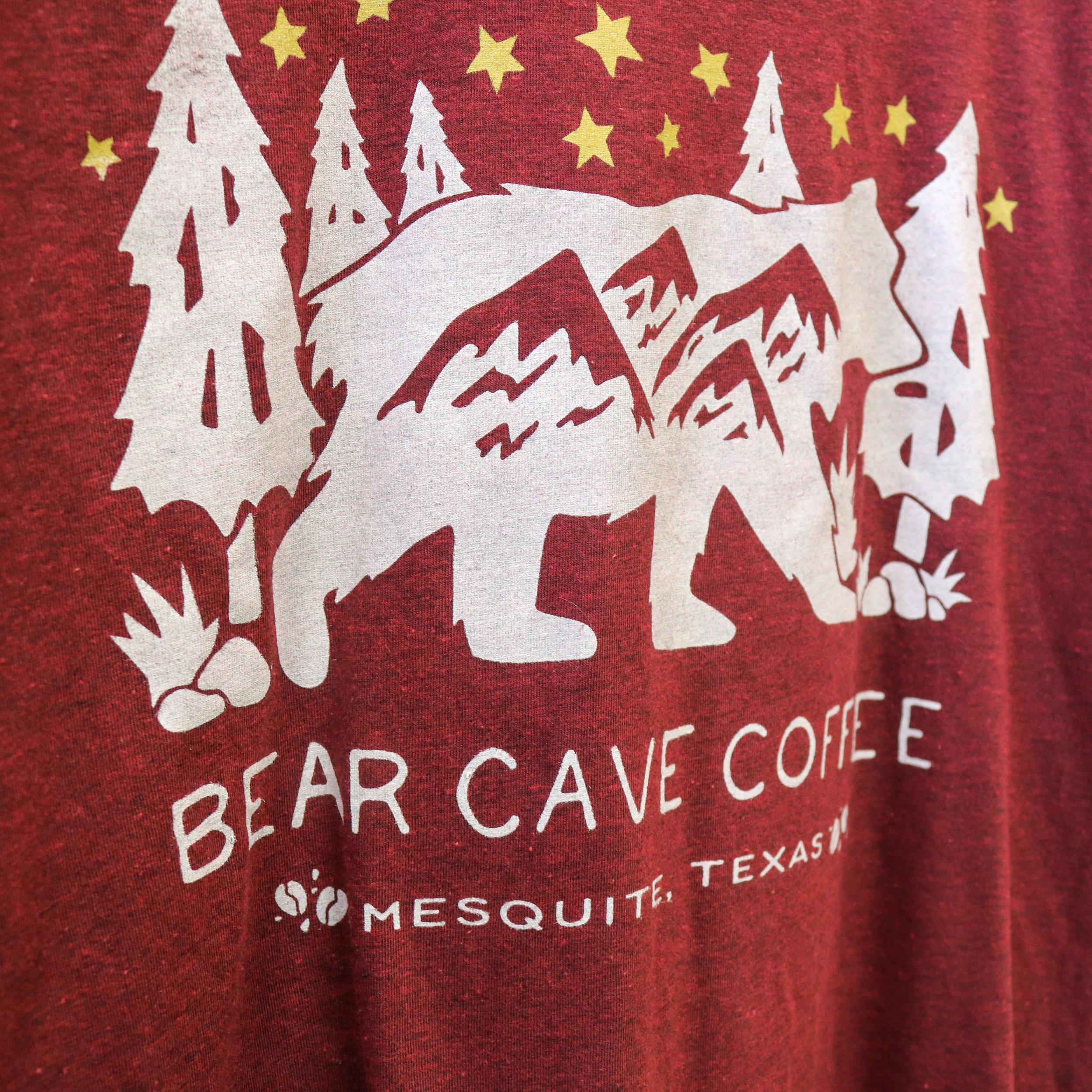 Mesquite Coffee Shop Bear Cave Coffee Tees